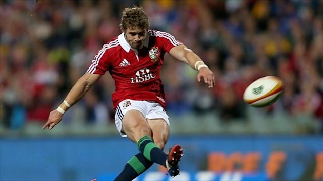 Leigh Halfpenny has registered 65 points in three appearances in Australia