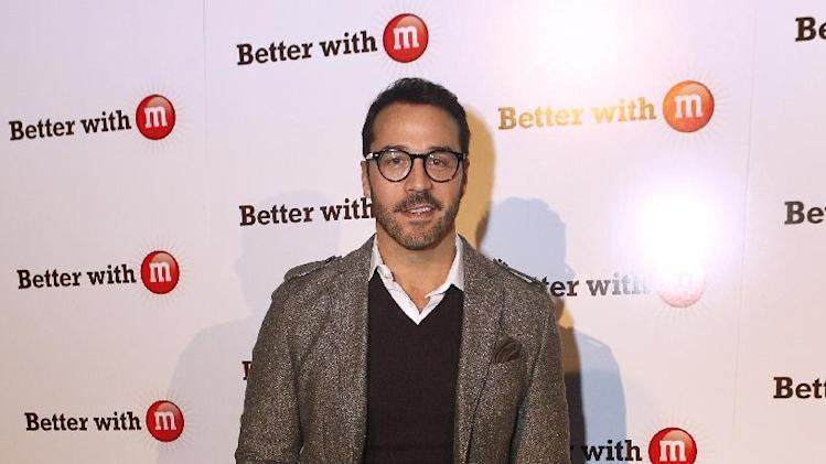 """IMAGE DISTRIBUTED FOR MARS CHOCOLATE NORTH AMERICA - Jeremy Piven makes an appearance at the """"Better With M"""" Kick-Off Event on Thursday, Jan. 31, 2013 in New Orleans. (Jonathan Bachman / AP Images for Mars Chocolate North America)"""