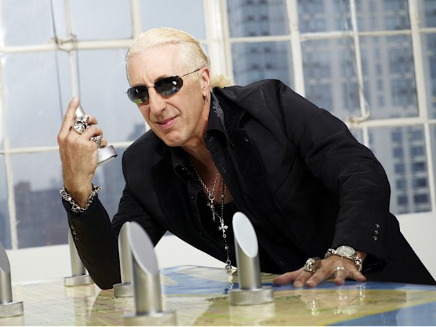 "Dee Snider competes in the 12th season of ""The Celebrity Apprentice."""