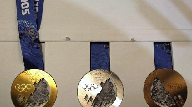 Russia's 2014 Olympic Medals Are Pretty Badass