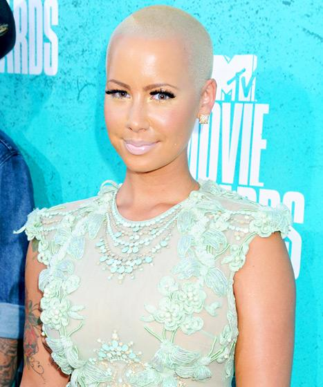 Amber Rose: I Had a C-Section Instead of Planned Home Water Birth