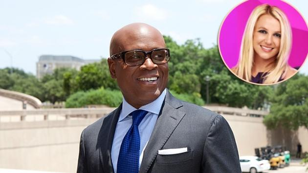 L.A. Reid, inset: Britney Spears -- Getty Images