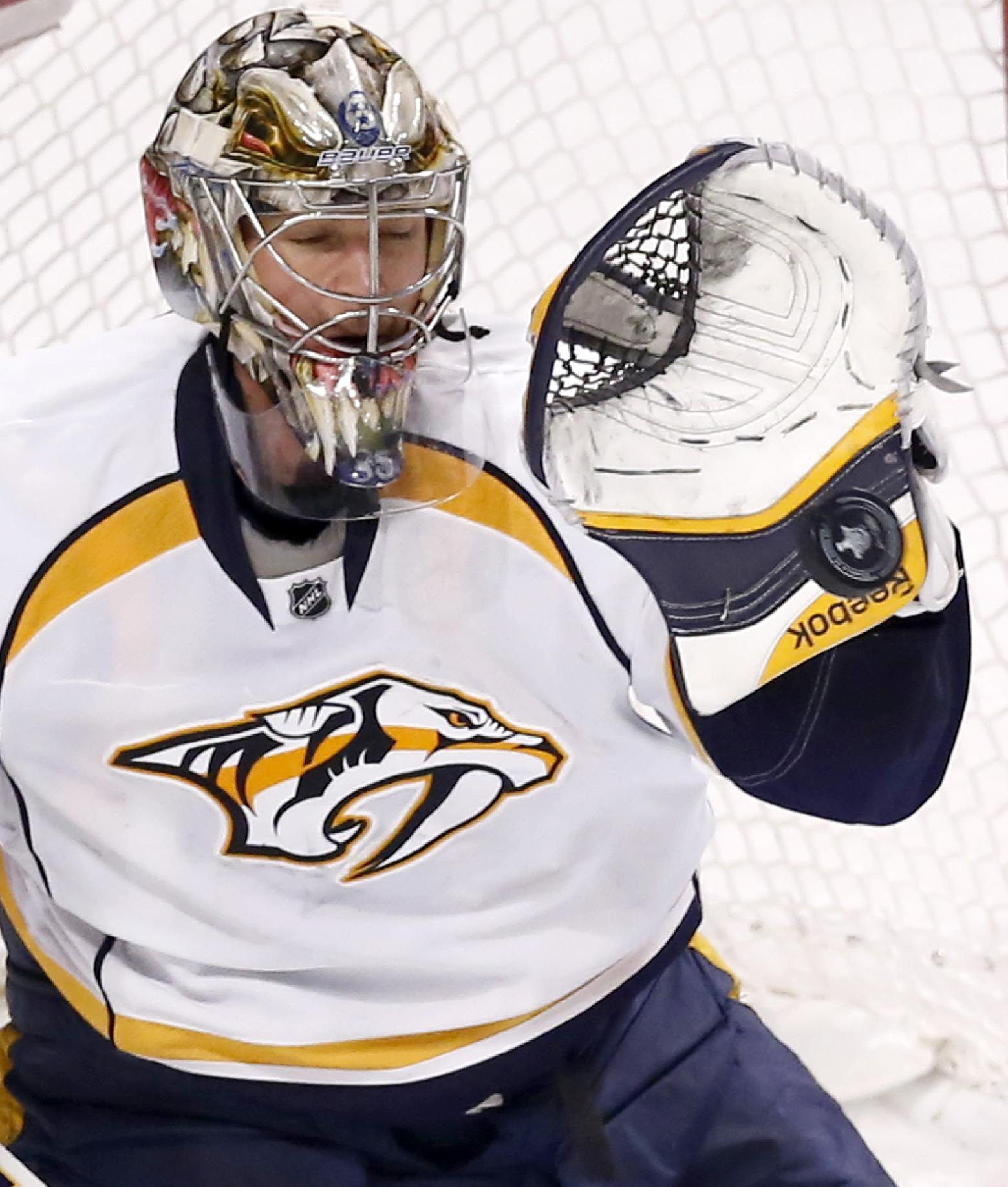 Price, Dubnyk, Rinne finalists for Vezina Trophy