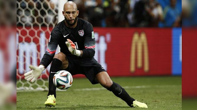 Tim Howard Was Randomly Drug-Tested After His 16 Amazing Saves