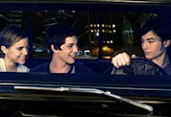 Logan Lerman, Emma Watson, Ezra Miller | Photo Credits: Summit Entertainment