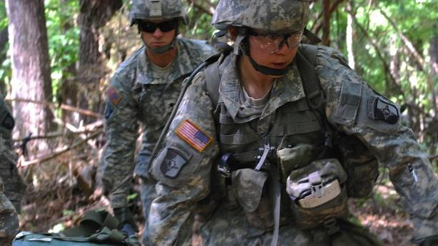 Women Soldiers Sue Military to Remove Bulletproof Glass Ceiling