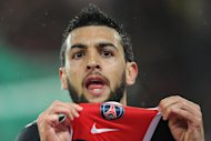 Paris Saint-Germain&#39;s Argentinian midfielder Javier Pastore celebrates after scoring a goal during the French L1 football match Paris vs Saint-Etienne, on May 02, 2011 at the Parc des Princes stadium in Paris. Paris won 2-0. AFP PHOTO / FRANCK FIFEFRANCK FIFE/AFP/GettyImages