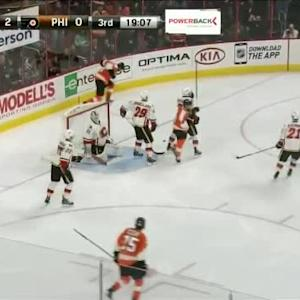 Flames at Flyers / Game Highlights