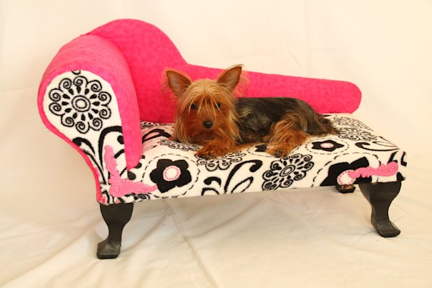 12 incredible pet beds on Etsy chaise