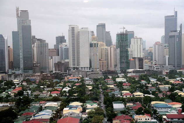Makati City skyline. (NPPA)
