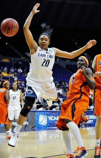 Penn State opens NCAAs with 85-77 win over UTEP