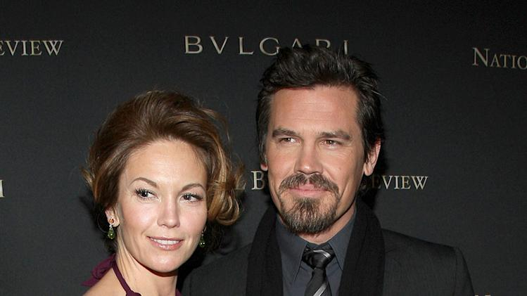 National Board of Review of Motion Pictures Awards Gala New York 2009 Diane Lane Josh Brolin