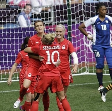 Canada beats South Africa 3-0 in Olympic soccer