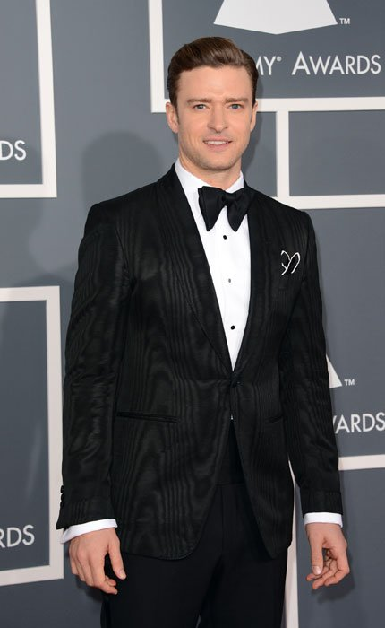 Singer-actor Justin Timberlake arrives at the 55th Annual GRAMMY Awards at Staples Center on February 10, 2013 in Los Angeles, California. (Photo by Jason Merritt/Getty Images)