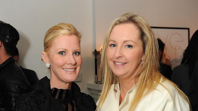 """Sandra Lee, left, attends LoveGold/EJAF Celebrate """"How to Survive a Plague"""" at Chateau Marmont on February 22, 2013 in Los Angeles. (Photo by Jordan Strauss/Invision for LoveGold/AP Images)"""