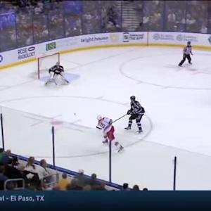 Ben Bishop Save on Jay McClement (16:00/1st)