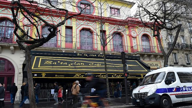 The Bataclan concert hall in Paris, pictured on December 24, 2015, hopes to reopen by the end of 2016