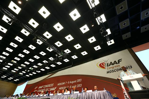 49th IAAF Congress - Moscow 2013