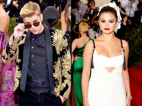Justin Bieber Was All About Selena Gomez's Look at Met Gala 2015