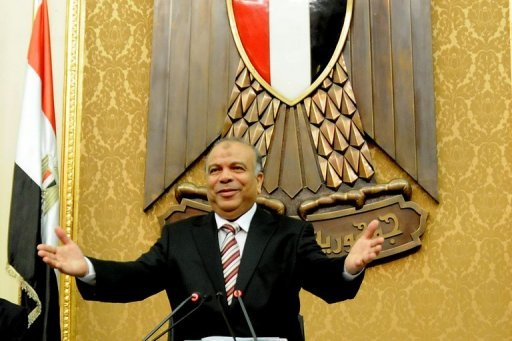 &lt;p&gt;Saad al-Kattatni, speaker of Egypt&#39;s parliament, attends with members the first session of parliament in Cairo on July 10. Egypt&#39;s parliament was hanging in legal limbo on Wednesday after a top court overruled a presidential decree reinstating the dissolved house, stepping up a power struggle between the president and the army.&lt;/p&gt;