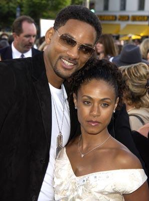 Will Smith and Jada Pinkett Smith at the LA premiere of Columbia's Men in Black II