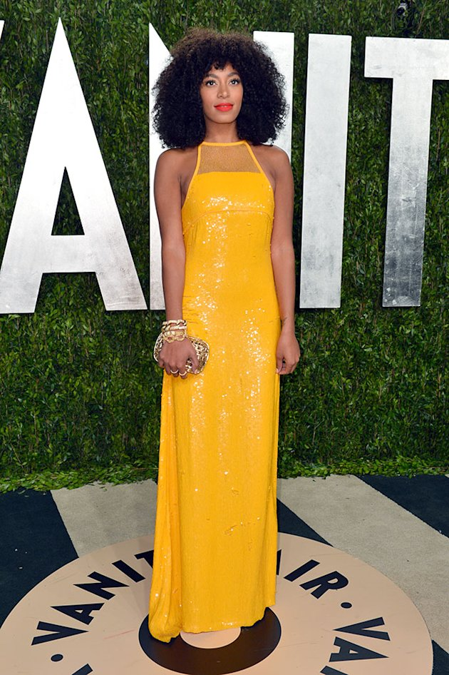 2013 Vanity Fair Oscar Party Hosted By Graydon Carter - Arrivals: Solange Knowles