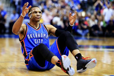 Russell Westbrook's season is over, and life's not fair