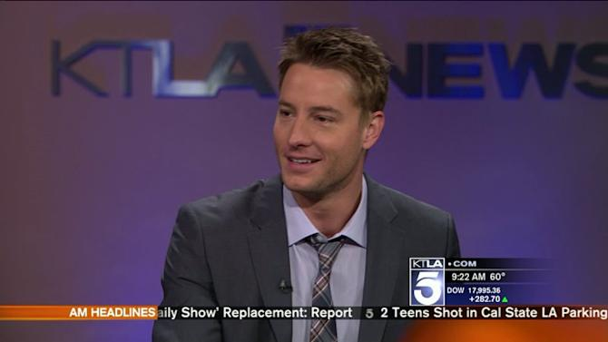 Justin Hartley Gives Us The Behind The Scenes Scoop on `The Young and the Restless`