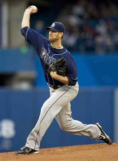 Ramos gets 1st career win as Rays beat Blue Jays