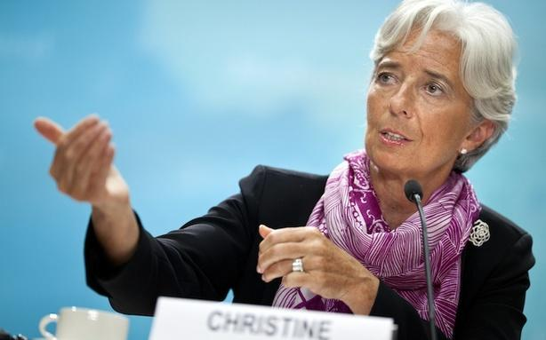 Christine Lagarde Doesn't Feel French