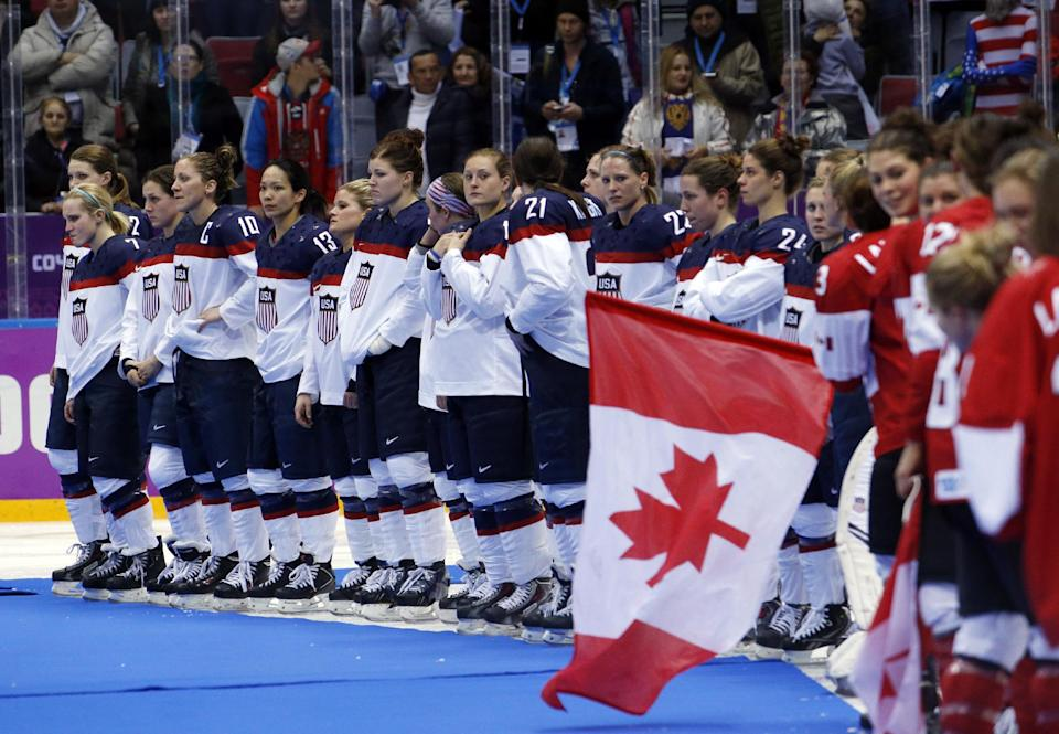 US women lose hockey gold in heartbreaking fashion