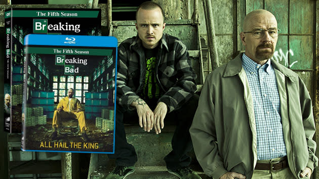 "TV on DVD: ""Breaking Bad"" Season 5 Blu-Ray and DVD"