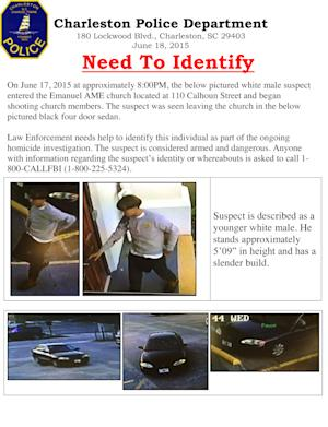 This image has been provided by the Charleston Police …
