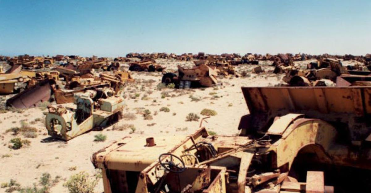 10 Amazing Vehicle Graveyards Around the World