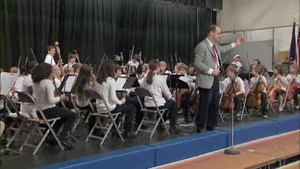 Montco students celebrate with holiday concert