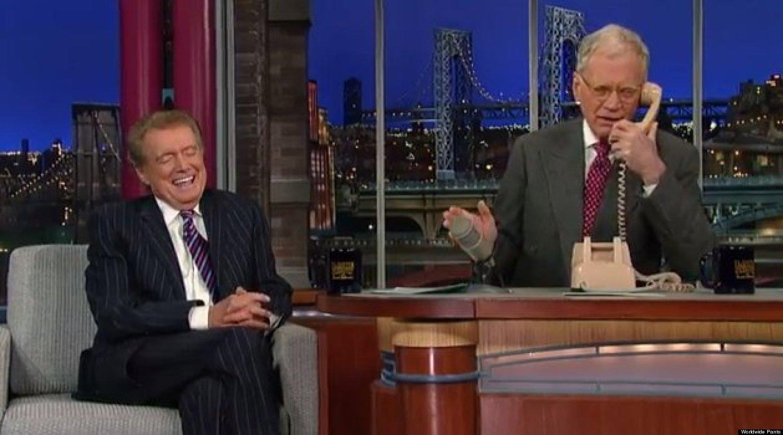 David Letterman To Appear On 'Late Late Show' Hosted By Regis Philbin