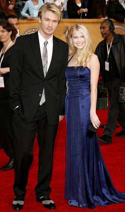 Chad Michael Murray and Kenzie Dalton  at the 13th Annual Screen Actors Guild Awards. 
