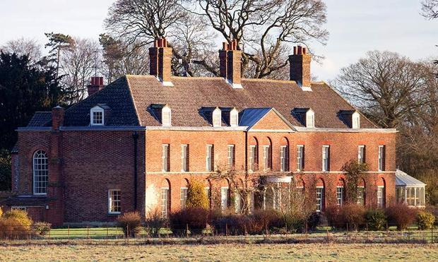 Prince William and Kate Middleton granted no-fly zone over Anmer Hall home