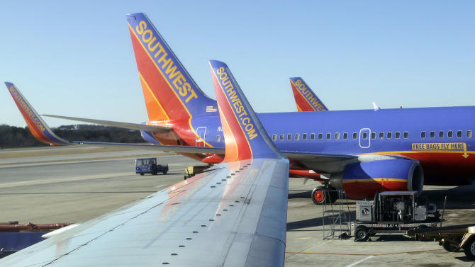 Southwest says it won't make a profit in 1st qtr.