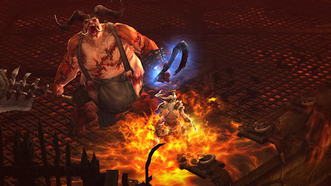 """FILE - This file video game image released by Activision Blizzard Inc., shows gameplay from """"Diablo III"""".  In Google's 12th annual roundup of global trending searches, the epic fantasy role-playing game was ranked fifth. (AP Photo/Activision Blizzard Inc.)"""