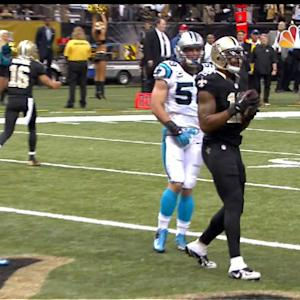 New Orleans Saints wide receiver Marques Colston 6-yard touchdown