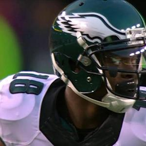 Philadelphia Eagles quarterback Mark Sanchez to wide receiver Jeremy Maclin for 22 yards