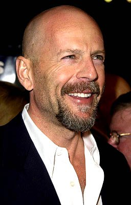 Bruce Willis at the LA premiere of MGM's Hart's War
