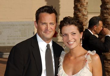 Matthew Perry and galpal Rachel Emmy Creative Arts Awards - 9/13/2003
