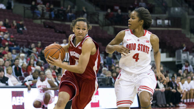 NCAA Womens Basketball: Wisconsin at Ohio State
