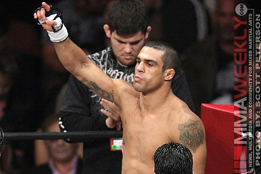 Vitor Belfort Wants Chael Sonnen Out So He Can Get Rematch with Jon Jones at UFC 159
