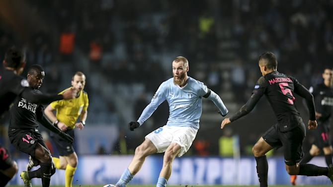 Malmo v Paris Saint Germain - UEFA Champions League Group Stage
