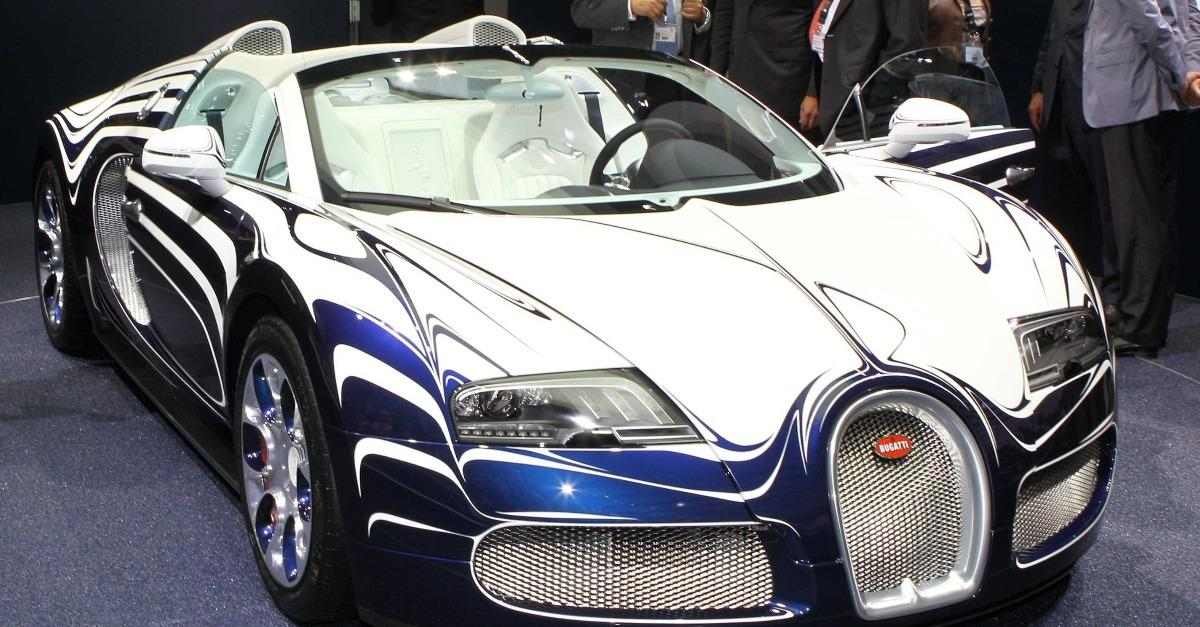 24 Different Models Of The Bugatti Veyron