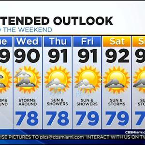 CBSMiami.com Weather 7/22/2014 Tuesday 6AM