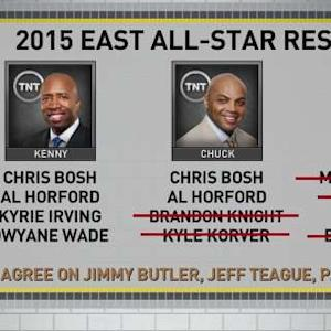 Inside The NBA: Eastern Reserves Debate